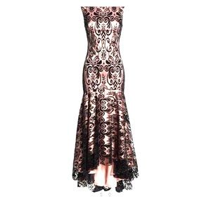 Eliza J high low gown nwt size 6